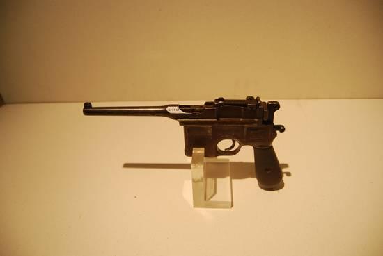 新四军四支队司令员高敬亭使用过的驳壳枪