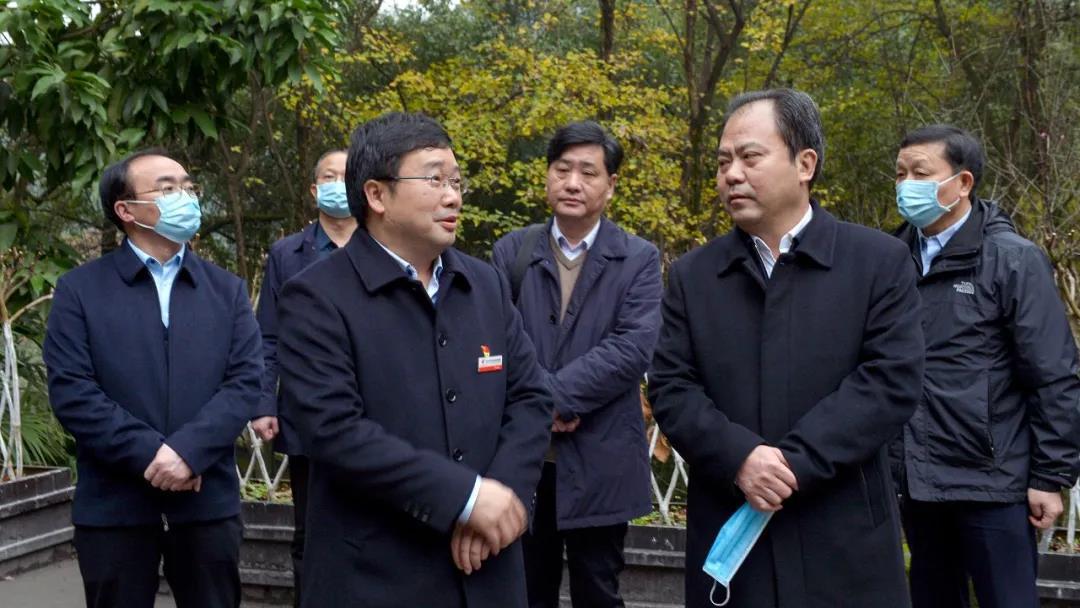 纪念馆随中共信阳市委常委、宣传部长曹新博一行赴重庆开展考察交流活动
